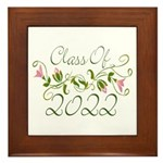 Lovely Class Of 2022 Framed Tile
