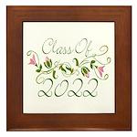 Lovely Class Of 2022 Framed Tile