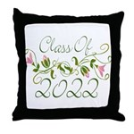 Lovely Class Of 2022 Throw Pillow