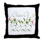 Lovely Class Of 2022 Throw Pillow