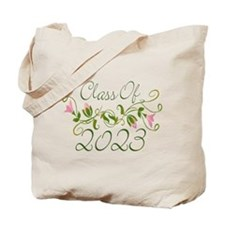 Flowered Class Of 2023 Tote Bag