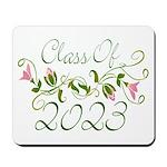 Flowered Class Of 2023 Mousepad