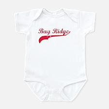 Bay Ridge Red Infant Bodysuit