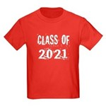 Grunge Class Of 2021 Kids Dark T-Shirt