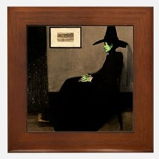 Whistler's Wicked Witch Framed Tile