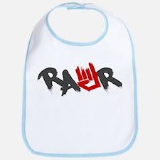 Rawr Logo Bib