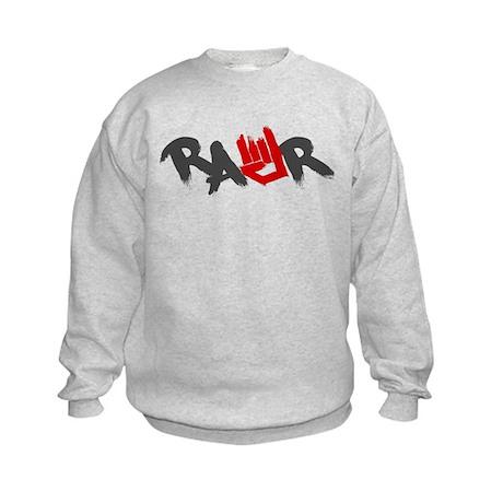 Rawr Logo Kids Sweatshirt