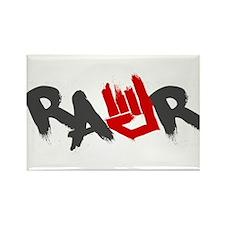 Rawr Logo Rectangle Magnet