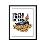 Gnomes and Cookies Framed Panel Print