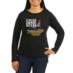 Gnomes and Cookies Women's Long Sleeve Dark T-Shir