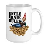Gnomes and Cookies Large Mug