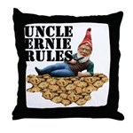 Gnomes and Cookies Throw Pillow