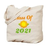 Bright Class Of 2021 Tote Bag