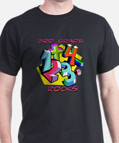 Numbers 3rd Grade T-Shirt