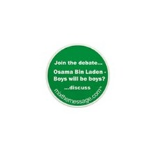 Bin Laden Mini Button (10 pack)