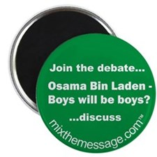 "Bin Laden 2.25"" Magnet (10 pack)"