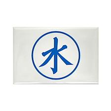 Blue Shui Rectangle Magnet