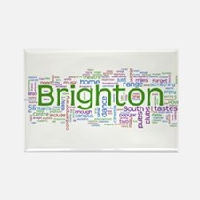 Brighton Rectangle Magnet
