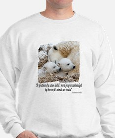 Polar Bear Family Sweatshirt