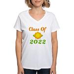 Grad Class Of 2022 Women's V-Neck T-Shirt