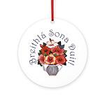 Birthday Bouquet Ornament (Round)