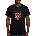 Birthday Bouquet Men's Fitted T-Shirt (dark)