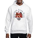 Birthday Bouquet Hooded Sweatshirt