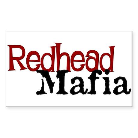 Redhead Mafia! - Sticker