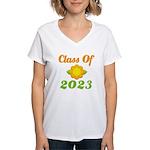 Grad Class Of 2023 Women's V-Neck T-Shirt