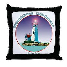 The Marblehead Ohio Light Throw Pillow