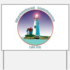 The Marblehead Ohio Light Yard Sign