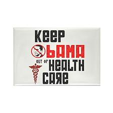 Anti Obama Health Care Rectangle Magnet