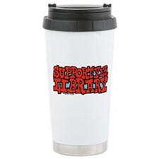 Support Yer Library Travel Mug
