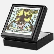 Spunky Little Monkey Keepsake Box