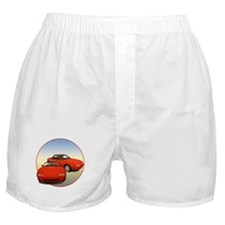 Cute Sports car Boxer Shorts