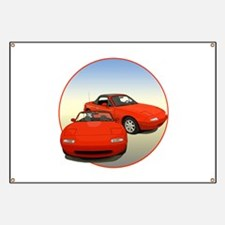 Funny Sports car Banner
