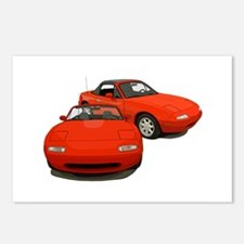 Funny Mx 5 Postcards (Package of 8)