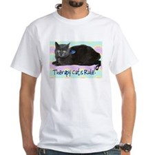 """Therapy Cats Rule!"" Shirt"