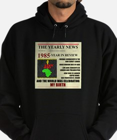 born in 1985 birthday gift Hoodie