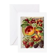 4 Farliest Fruits Greeting Card