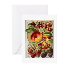 4 Farliest Fruits Greeting Cards (Pk of 10)