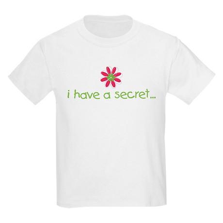 big sister to be secret flower 6.0 Kids Light T-Sh