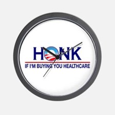 Honk Buying You Healthcare Wall Clock