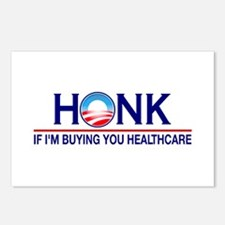 Honk Buying You Healthcare Postcards (Package of 8
