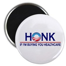 """Honk Buying You Healthcare 2.25"""" Magnet (100 pack)"""