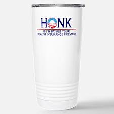 Honk Health Insurance Stainless Steel Travel Mug