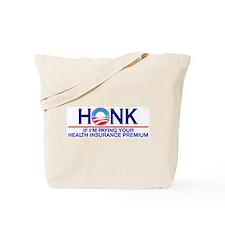 Honk Health Insurance Tote Bag