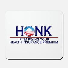 Honk Health Insurance Mousepad