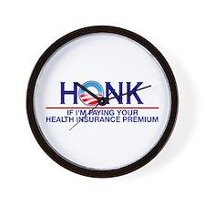 Honk Health Insurance Wall Clock