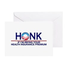 Honk Health Insurance Greeting Card